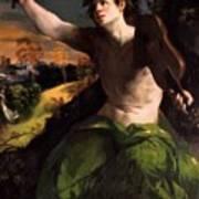 Apollo And Daphne 1524 Poster