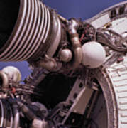 Apollo Rocket Engine Poster