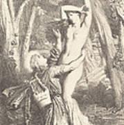 Apollon Et Daphne Poster