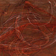 Apophysis Fractal Flame Color Art Print Poster