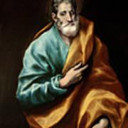 Apostle Saint Peter Poster