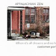 Appalachian Zen Poster