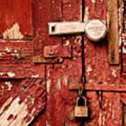 Appealing Barn Door Poster