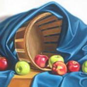 Apple Basket Poster