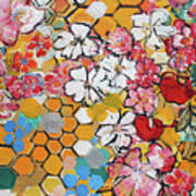 Apple Honeycomb Blossoms 201760 Poster