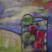 Apples On A Shoreline Poster