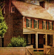 Appomattox Court House By Liane Wright Poster