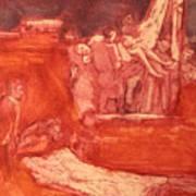 Apres Rembrandt Poster