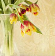 April Flowers Poster