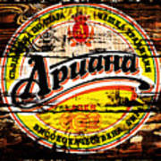 Apuaha Beer Sign Poster