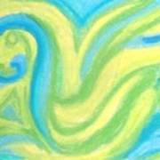 Aqua Duck  Poster