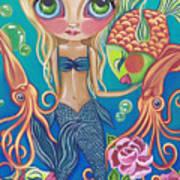 Aquatic Mermaid Poster