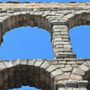 Aqueduct Of Segovia Poster
