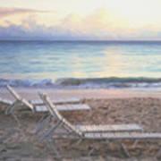 Aruba Beach Sunset Poster