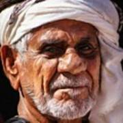 Arabian Old Man Poster