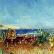 Arabs By The Sea Poster