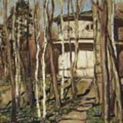 Arbour On The Mound Former Naydenovsky Park Moscow 1920 Apollinaris M Vasnetsov Poster