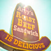 Arby's Poster