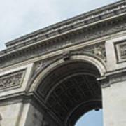 Arc De Triomphe, Paris, France Poster