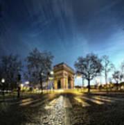 Arc Of Triumph Poster by Pascal Laverdiere