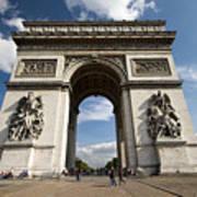Arc The Triomphe Paris Poster