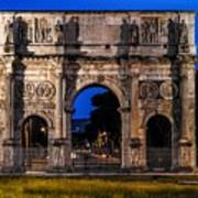 Arch Of Constantine Poster