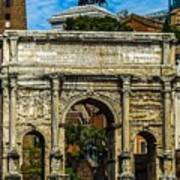Arch Of Septimius Severus Poster