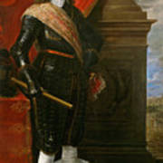 Archduke Leopold Wilhelm With The Siege Of Gravelingen Poster