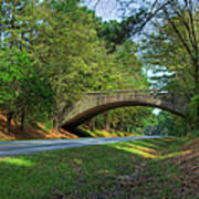 Arched Bridge Overpass  Poster
