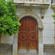 Arched Door Cadiz Poster