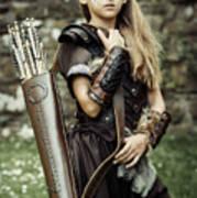 Archer Warrior Poster