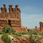 Arches National Park 3 Poster