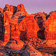 Arches National Park Pano One Poster