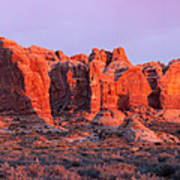 Arches National Park Pano Two Poster