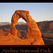 Arches National Park Poster Poster