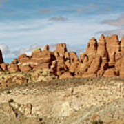 Arches Spires  Poster