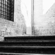 Architectural Stone Stairs Poster