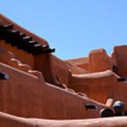 Architecture In Santa Fe Poster