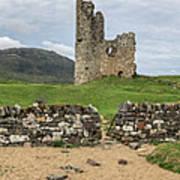 Ardvrek Castle Panorama 0842 Poster