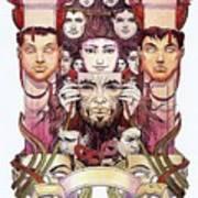 Aria Personae Micheal Kaluta Poster