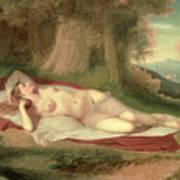 Ariadne Asleep On The Island Of Naxos Poster