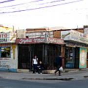 Arica Chile Street Corner Poster