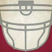 Arizona Cardinals Helmet Art Poster