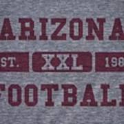 Arizona Cardinals Retro Shirt Poster