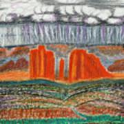 Arizona Rain Poster
