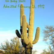 Arizona The Baby State Poster