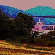 Arkansas River Lock Poster