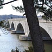 Arlington Memorial Bridge Poster
