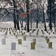 Arlington Winter Snow Poster