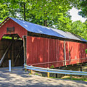 Armstrong/clio Covered Bridge Poster
